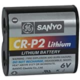 SANYO CRP2 6V Lithium Battery
