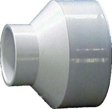 Genova Products 70143 PVC-DWV Reducing Couplings, 4