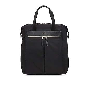 "Knomo Dalston Reykjavik, 15"" Ultra Lightweight Water-Resistant Laptop Tote Backpack, Black"