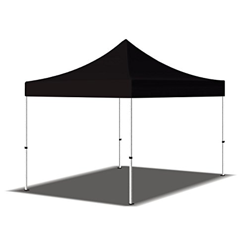 Marketing Folding Canopies - Canopy Tent 10x10 ft. Pop up Canopy Outdoor Portable Shade Instant Folding Canopy Tent - Black