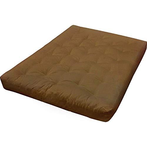 Gold Bond 0613I0-0101 Wool Wrap Chair Ottoman Futon Mattress, Microfiber, 8