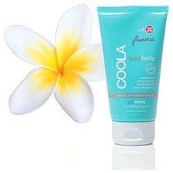 COOLA Organic Suncare, Plumeria Classic Body Sunscreen  Moisturizer, SPF 30 , 5 Ounce