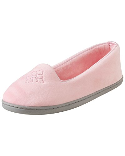 ur Closed-Back Women's Slipper – Padded Microfiber Slip-Ons with a Durable Outsole - 745,Sugar Pink,X-Large/11-12 M US ()