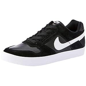 Nike 942237-010: Men's SB Delta Force Vulc Skate Black White Sneaker (11 D(M) US)