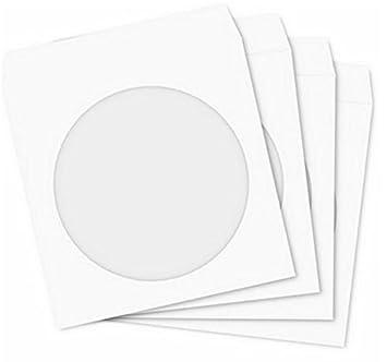 LinTimes Bolsa de Papel para CD y DVD, 100 Piezas: Amazon.es ...