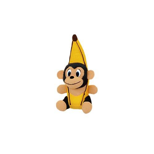 ToySource Black Peel The Monkey 13 Plush Collectible Toy Black 13