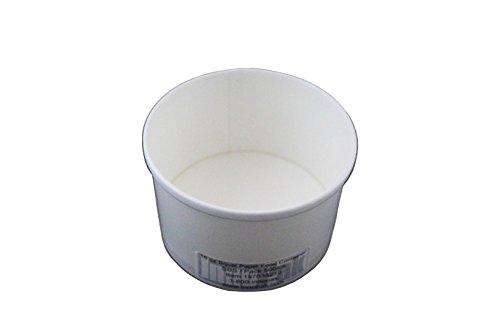 Inno-Pak 197638218 Food Container, 16 oz Squat, 2.75