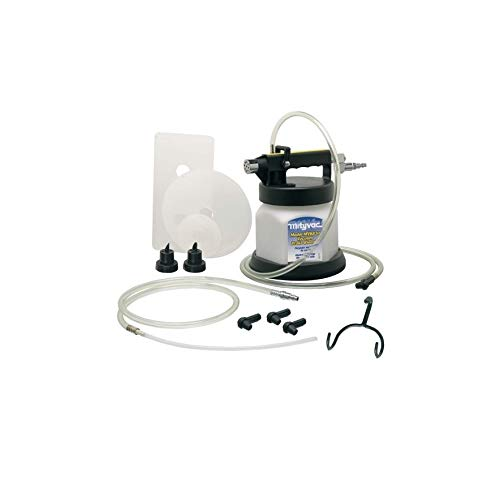 2Qt Compressed Swivel Air Operated 60-150PSI 0.25''NPT Vacuum Brake/Clutch Bleeder w/Accs Quick Delivery