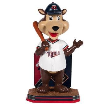 TC Bear Mascot Minnesota Twins Deluxe Bobblehead Figurine (Bobble Head) by Forever Collectibles