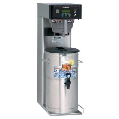 Bunn 41400.0001 5-Gal Iced Tea Brewer, Digital Controls & Sweetener, 120 V, Each