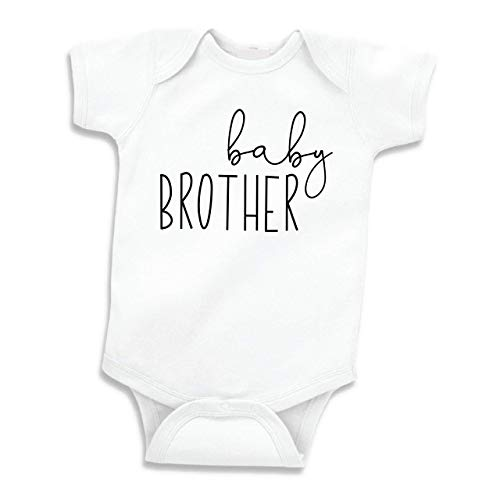 (Little Brother Shirt, for Boys, Baby Announcement (0-3 Months))