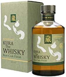 Kura The Whisky Blended Malt Rum Cask Finish 40% - 700 ml in Giftbox