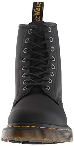 Adulte Greasy Bottes Black Mixte Dr noir Noir 1460 Martens IPq6HF