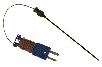 CHEMGLA - Needle Tip Thermocouple- Teflon Coated- 7'' Needl e Len- Type T, ()