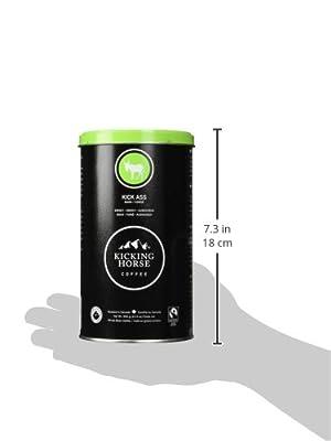 Kicking Horse Kick Ass Whole Bean Coffee Dark 12 3 oz 350 g