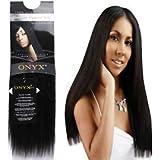 Amazon onyx remi yaki 100 remi human hair 12 1b hair onyx 100 elite human hair natural essence yaki affiliated with black diamond pmusecretfo Choice Image