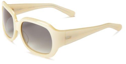 3.1 Phillip Lim Women's Vivian Square Sunglasses,Ivory,58 - Phillip Fashion Lim Designer