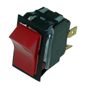 Intermetro Rpc13-127 Rocker Switch Red 20A/125-250V For Food Warmer C190 Hm15Lw 421393