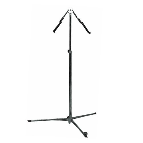 (Hamilton Double Bass Stand, Chrome Finish )