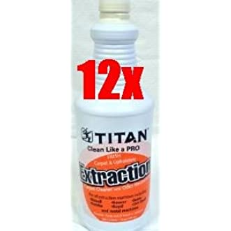 Titan Carpet Extraction Carpet Cleaner With Odor Neutralizer 32Oz SC1801 x12