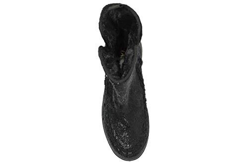 Sportive Lagoa Nero Stivaletti Scarpe Casual Donna Da Sneakers Alte Stivali Polacchino Divina wvPwq6r