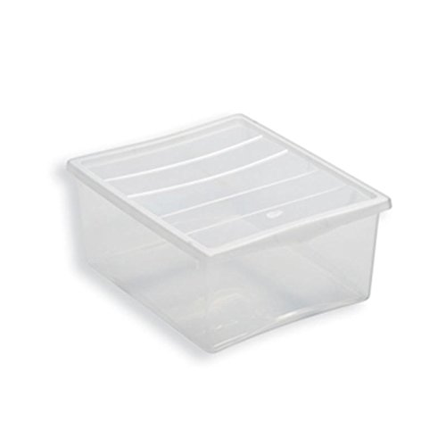 Box portaoggetti biancheria spring M Belli e forti, neutro trasparente Belli & Forti