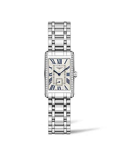 - Longines L52550716 Ladies Steel Quartz Diamond Set DolceVita Watch L5.255.0.71.6