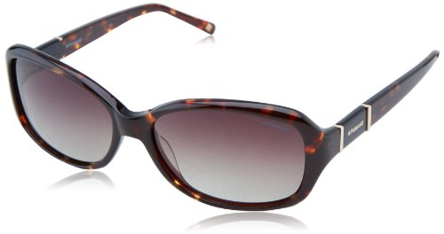 - Polaroid X8406S Polarized Rectangular Sunglasses,Havana Gold & Brown Gradiant Polarized,56 mm
