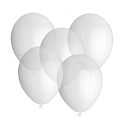 Tinksky 12 Inches Latex Transparent Color Party Balloons 3g (25 (Transparent Balloons)