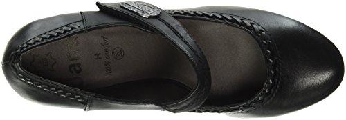 Jana 24301, Zapatos de Tacón para Mujer Negro (Black 001)