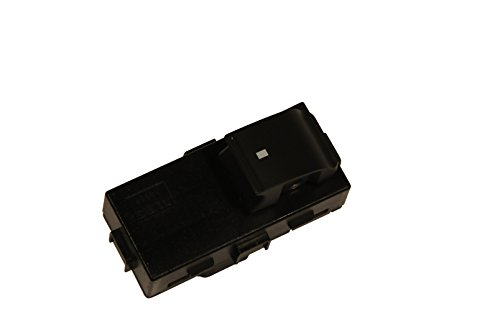ACDelco 25936888 GM Original Equipment Ebony Front Side Door Window Switch with Red - Graphic Ebony