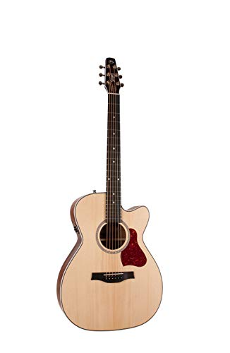 Seagull Maritime Solid Wood Series Concert Hall CW Semi-Gloss QIT Acoustic-Electric Guitar