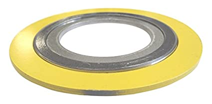 Teadit 9000IR1250304GR1500 Spiral Wound Gasket with 304SS Inner Ring 1-1//4 Pipe Size x 1500# Class Flange x 304SS//Flexible Graphite 1-1//4 Pipe Size x 1500# Class Flange x 304SS//Flexible Graphite Assigned by Sur-Seal Sur-Seal Inc