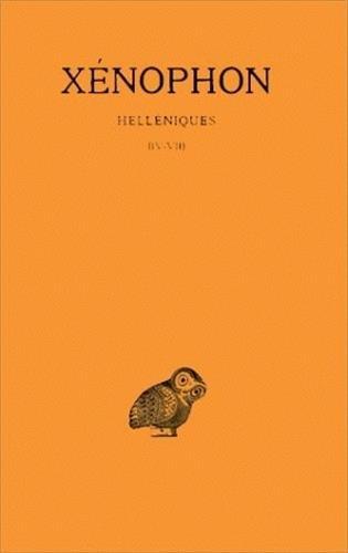 Helléniques, tome 2 : Livres IV-VII Broché – 1 janvier 1965 Xénophon J. Hatzfeld Belles Lettres 2251003371