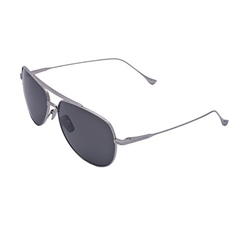 Dita Flight 004 Sunglasses 7804 A P Black Palladium / Dark Grey Polarized 61 - Mens Dita Sunglasses