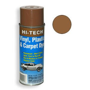hi tech light brown vinyl plastic carpet aerosol dye automotive. Black Bedroom Furniture Sets. Home Design Ideas