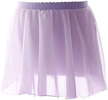 Insun Mujer Niña Falda de Ballet Gasa Violet XS(Altura 95-110cm ...