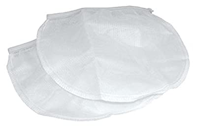 TWO (2) Kava Strainer Bags (White)