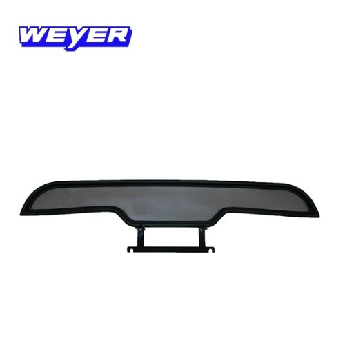 Black, Wieland 1089 Custom-fit Cabrio Wind Shield Chrysler Crossfire