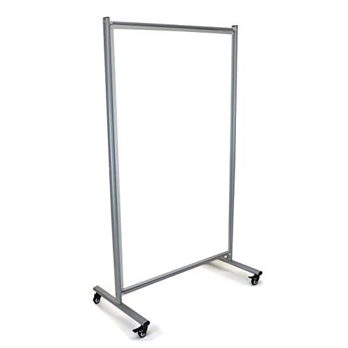 Mobile Magnetic Whiteboard Room Divider