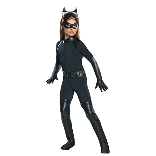 Batman Dark Knight Rises Childu0027s Deluxe Catwoman Costume - Large  sc 1 st  Amazon.com & Female Superhero Costume: Amazon.com