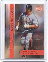 1999 Upper Deck Challengers for 70 Challengers Inserts #C1 Mark McGwire - Mark Mcgwire Insert