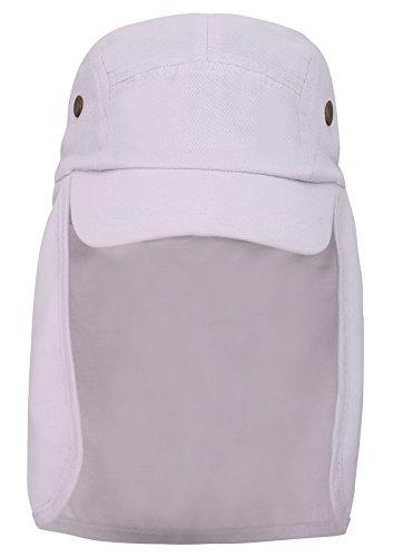 AshopZ Fishing Cap Safari Hat Sun Protection Outdoors Neck Flap Cap