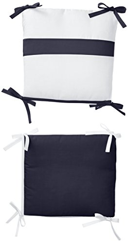 Lipper Rocking Chair - Baby Doll Bedding Junior Rocking Chair Cushion Pad Set for Child/Toddler Rocker, Navy