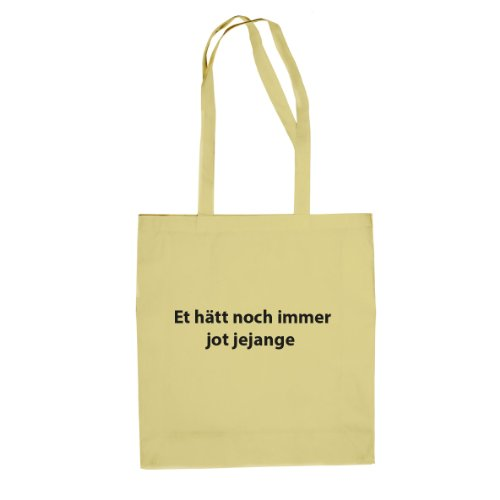 Et hätt noch immer jot jejange - Stofftasche / Beutel Natur xK1eKbm8WO