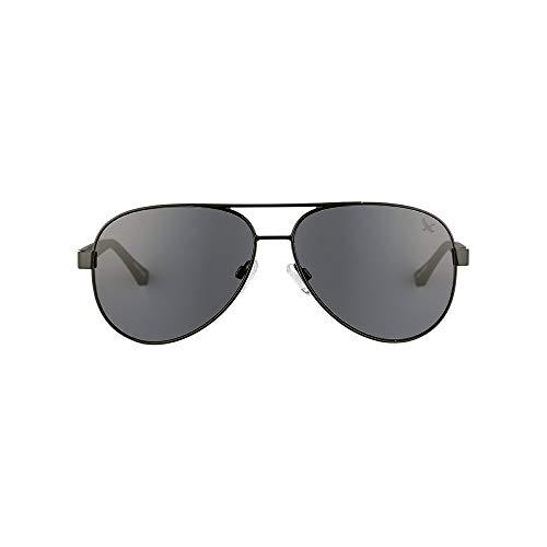 Eddie Bauer Unisex-Adult Eastmont Polarized Sunglasses, Black Regular ()