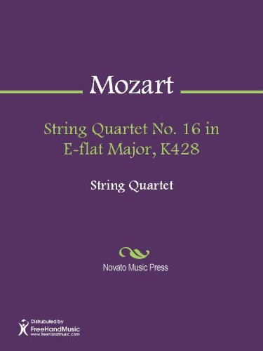 Get e-book String Quartet No  16 in E-flat Major, K428 - Viola