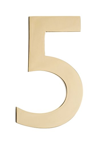 3 brass numbers - 9