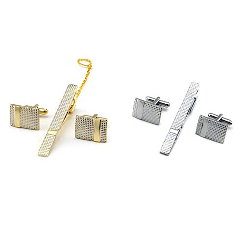 Oldlila 1 pcs Tie Clips Gold Simple Pattern Tie Clips For Men's Business Wedding Clips by Oldlila (Image #6)