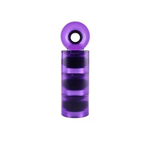 教える無駄な小麦Penny 4-Set Translucent Skateboard Wheels, Purple, 59mm by Penny